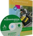 De examentraining cd-rom motorfiets