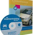 De examentraining cd-rom personenauto
